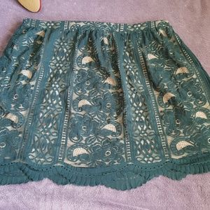 Green and nude skirt size XXL 🆕️